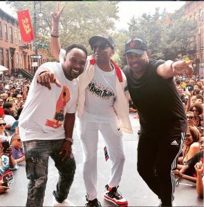 New York Legends - DJ Spinna, Spike Lee, and Chuck D
