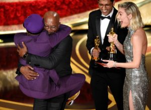 The Oscars 2019 - Brie Larson, Samuel L. Jackson, Spike Lee
